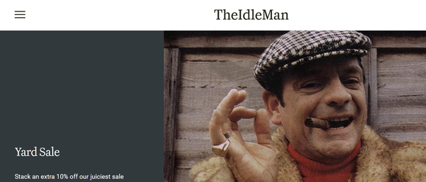 Best Men's Style Blogs The Idle Man