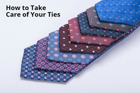 How to take care of your ties