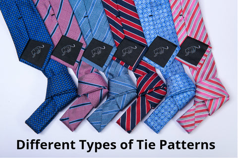 Different Types of Tie Patterns