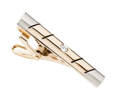 Gold & Silver Tie Bar Weddings