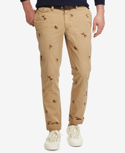 What Men Shouldn't Wear - Logo Embroidered Pants