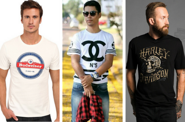 What Men Shouldn't Wear - Clothing With Large Logos