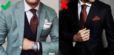 What Men Shouldn't Wear - Matching Ties & Pocket Squares