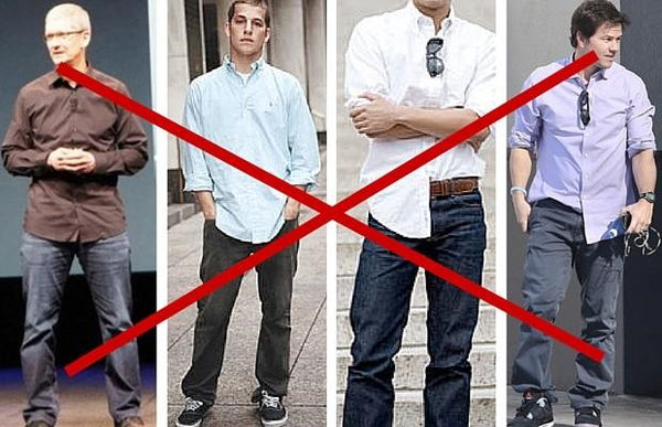 What Men Shouldn't Wear - Untucked Dress Shirts