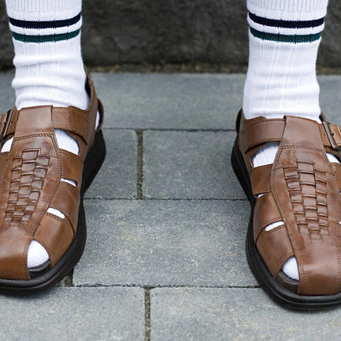What Men Shouldn't Wear - Sandals with Socks