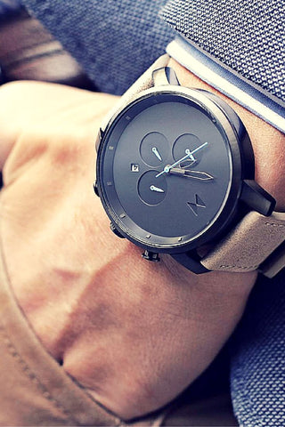 Sleek Black Men's Watch