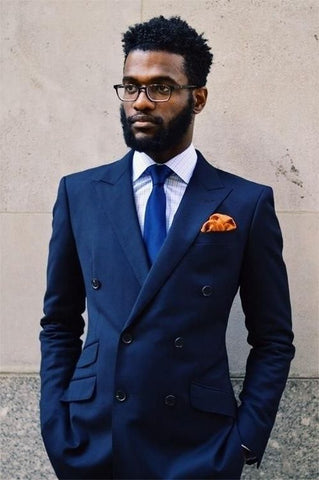 Complimentary Combination of Necktie and Pocket Square