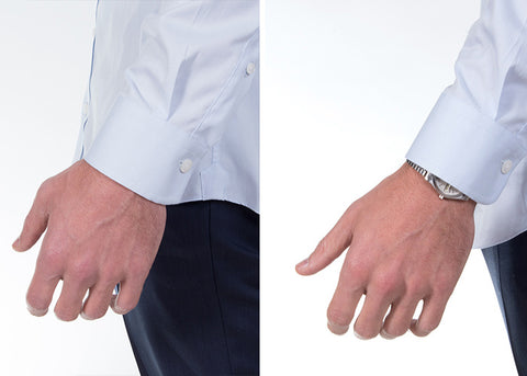 Dress Shirt Sleeve Cuff Fit