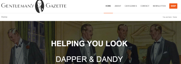 Best Men's Lifestyle Blogs Gentleman's Gazette