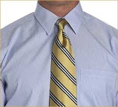 Mens Style Mistake a Poorly Tied Knot
