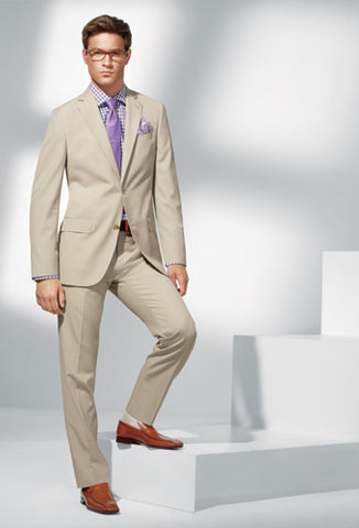 Summertime wedding suit