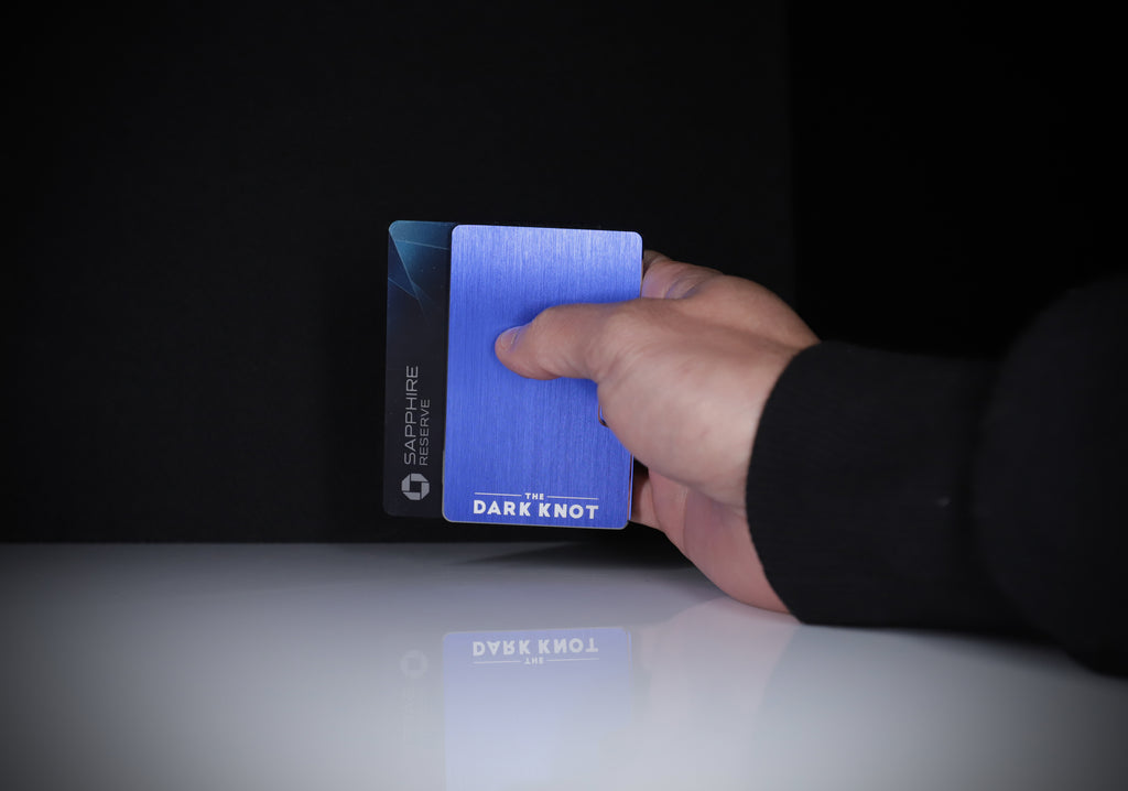 Blue Slim Wallet