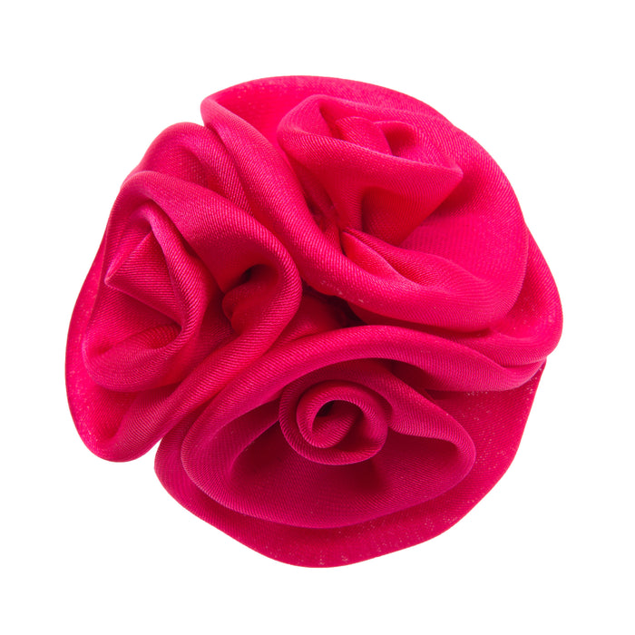 Fuschia lapel flower
