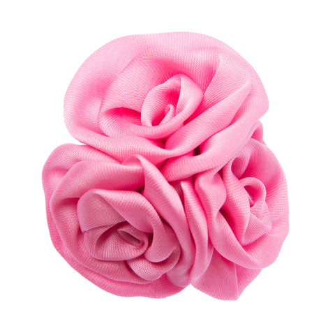 Pink multi flower lapel flower