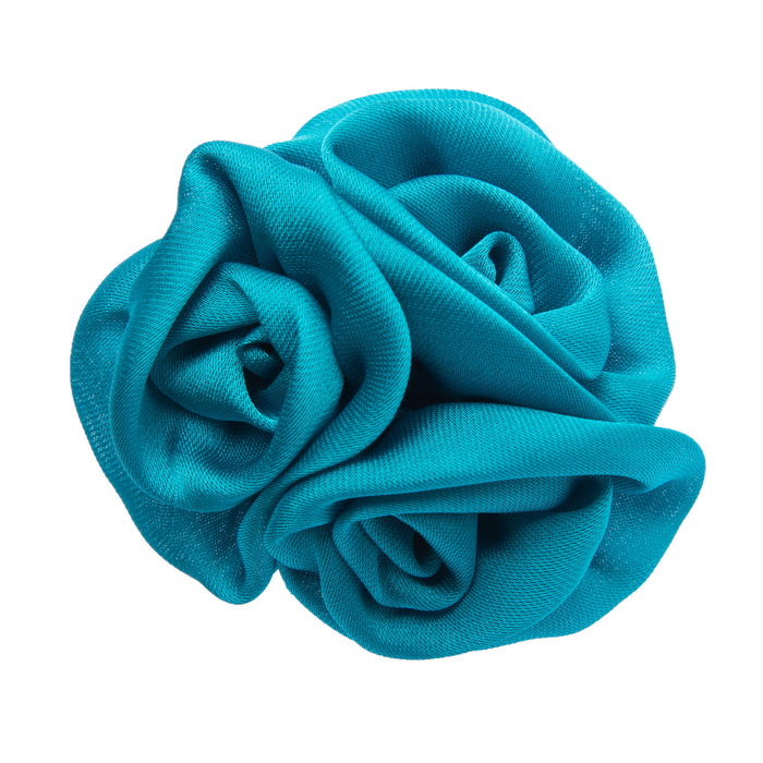 Turquoise lapel flower
