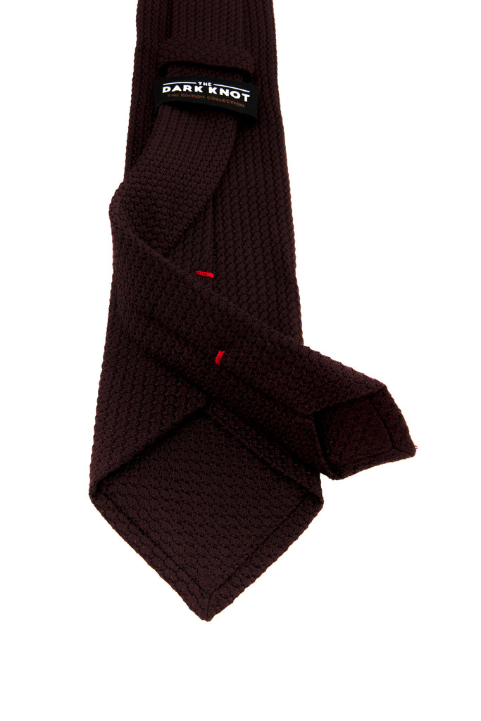 Grenadine Brown Silk Tie