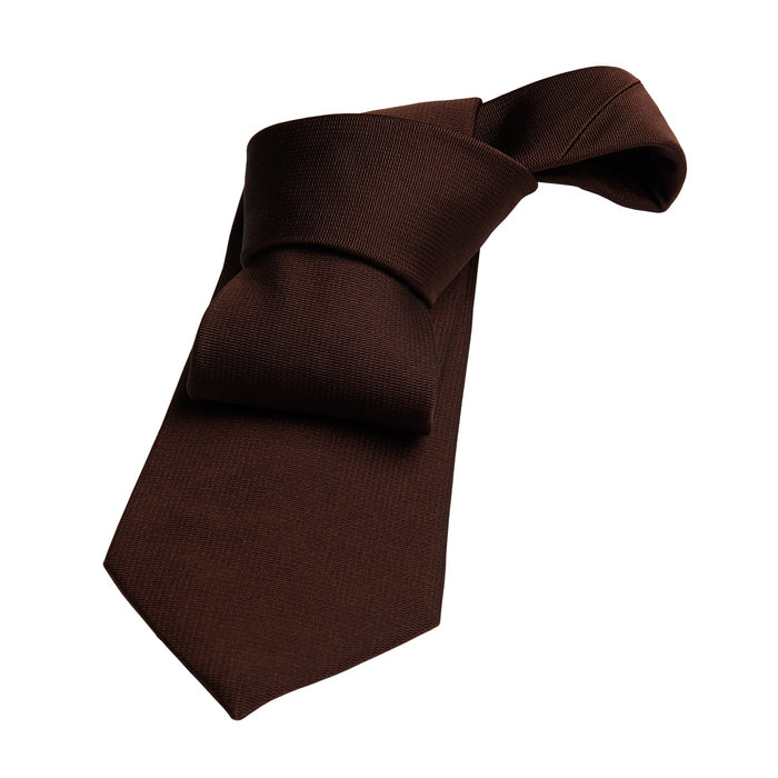 Brown Silk Tie