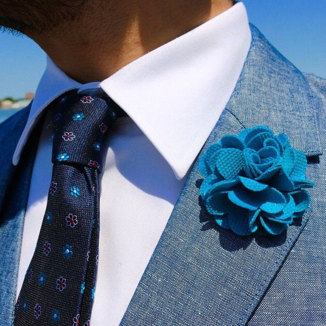 Berkshire Abstract Silk Tie, Navy / Turquoise
