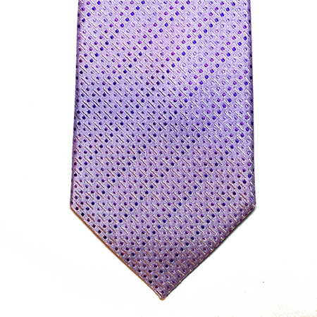 Lilac dotted necktie