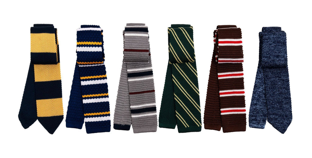Knitted Silk Ties