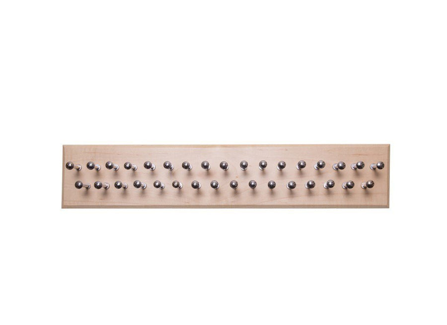 Medium Maple Tie Rack