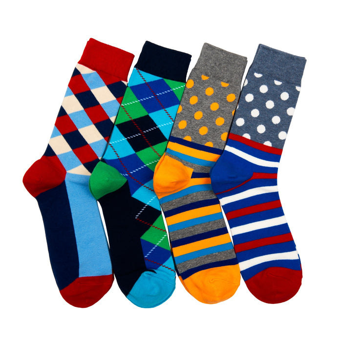 Men's Fashionable Colorful Socks