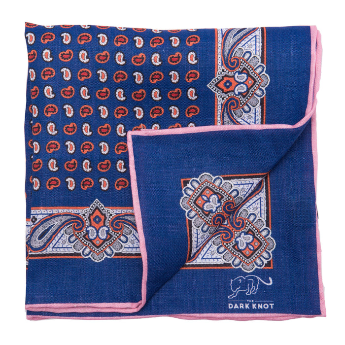 Foulard Linen Pocket Square