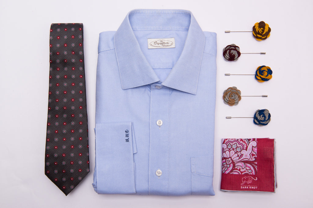 Ties, Pocket Squares & Lapel Flowers