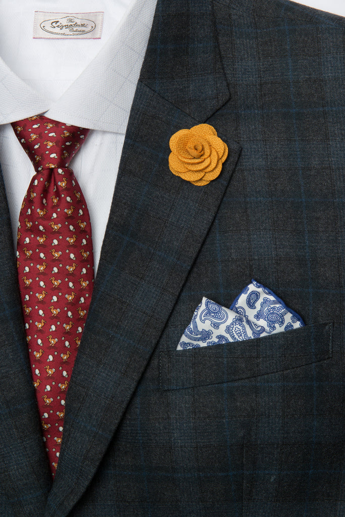 Six Pocket Squares Starter Kit
