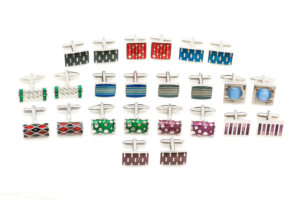 Enamel Plated Cufflinks