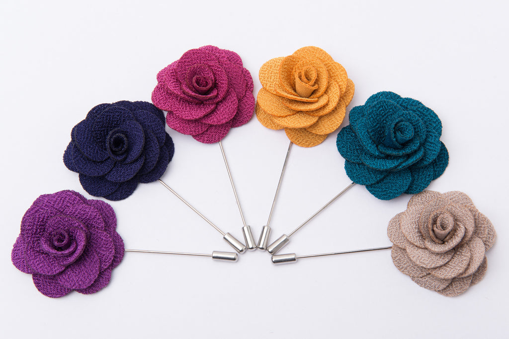 Hand Made Lapel Flowers