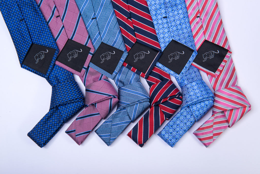 The Dark Knot Silk Ties