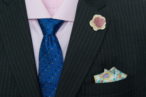 Two Ties and One Pocket Square Starter Kit