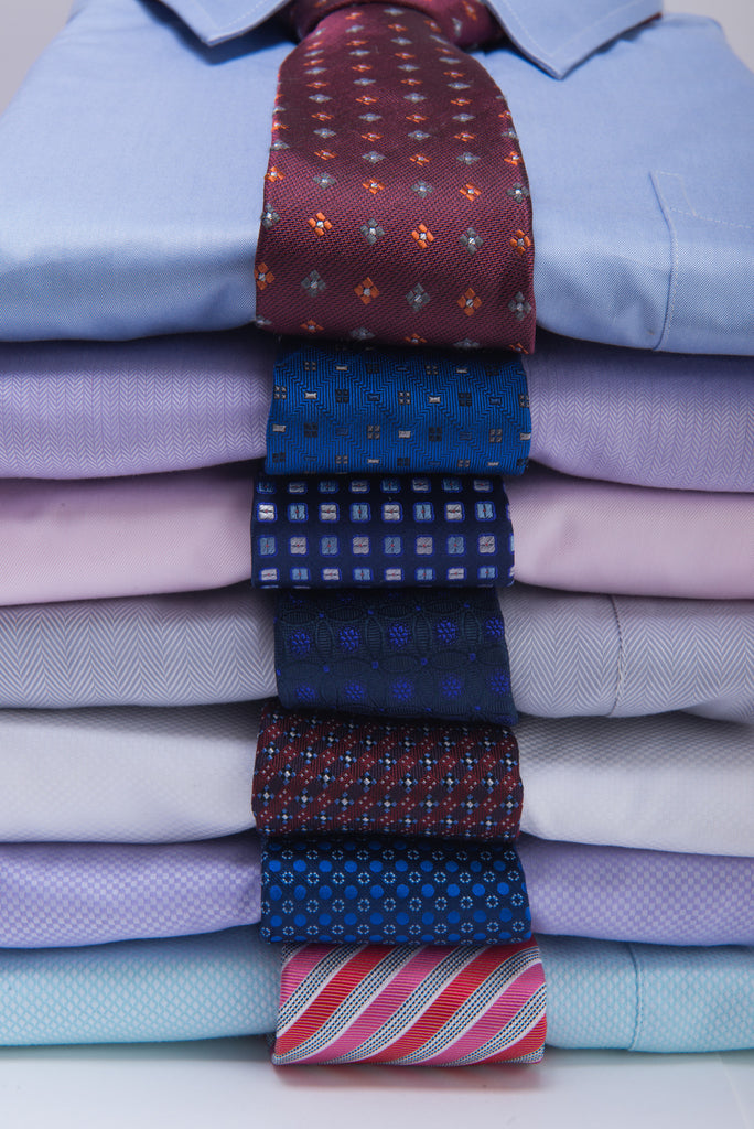 Silk Ties and Shirts