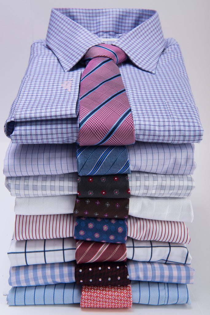 Matching Silk Ties and Shirts