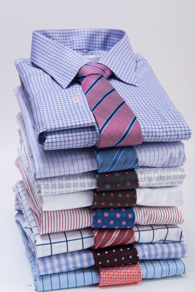 Silk Ties and Shirts Combinations