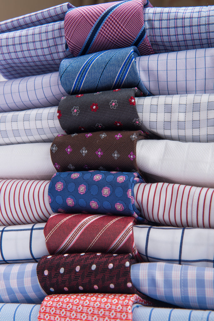 Silk Ties and Matching Shirts