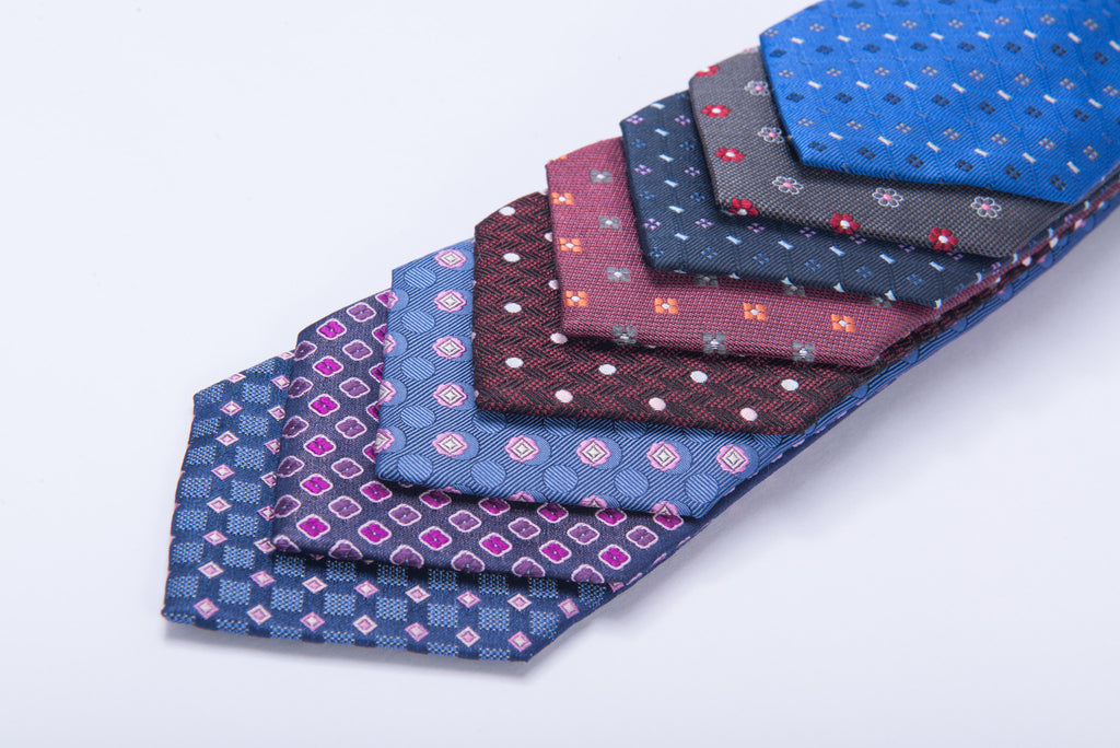 Luxury Foulard Silk Neckties