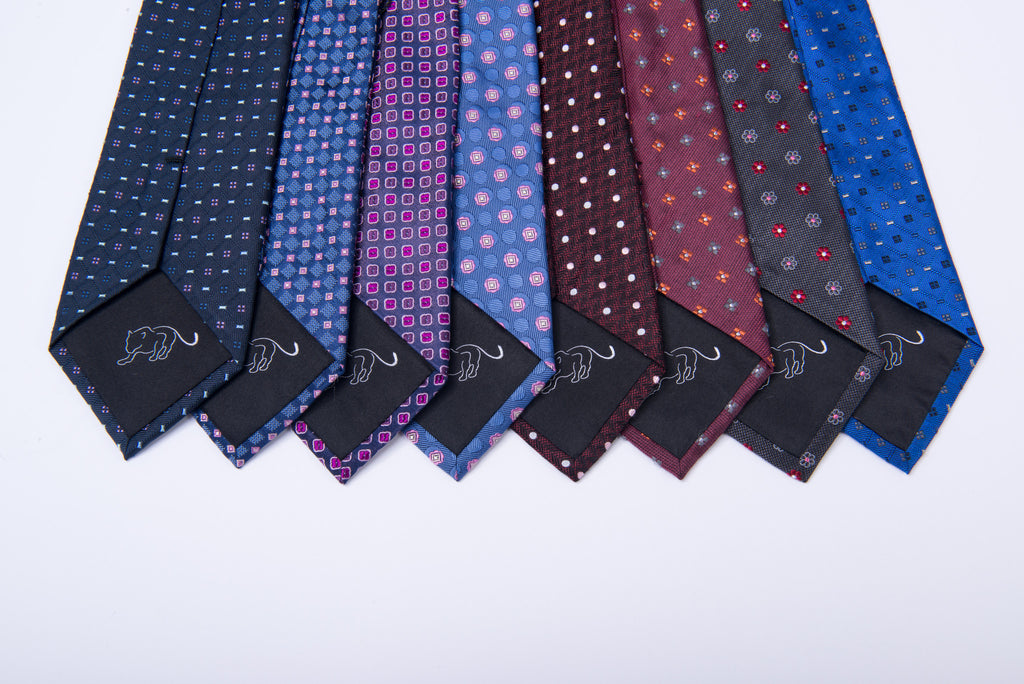 Premium Woven Abstract Silk Ties
