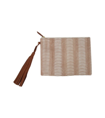 The Whipsnake Tassel Clutch