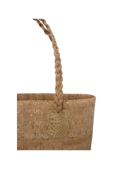 The Braided Cork Tote