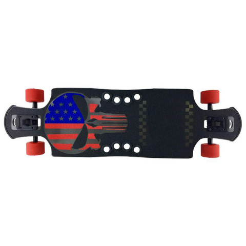 "Ebony Chrome Punisher 35"" Frosty DTP Longboard"