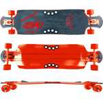 "Woodie at the Beach 42"" Frosty DTP Longboard"