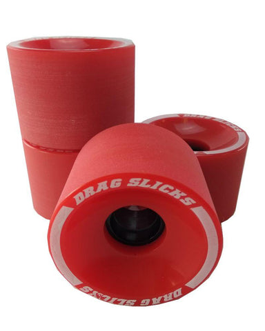 Drag Slicks - 70mm, Red