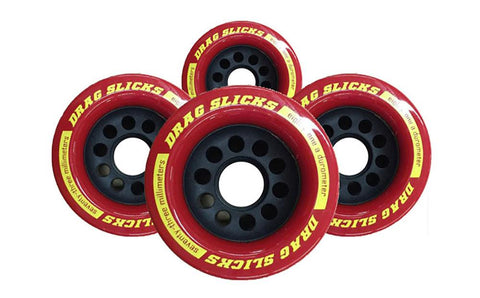 Labeda Drag Slicks - 73mm/81a, Red