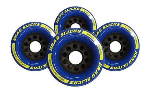 Labeda Drag Slicks - 76mm/84a, Blue