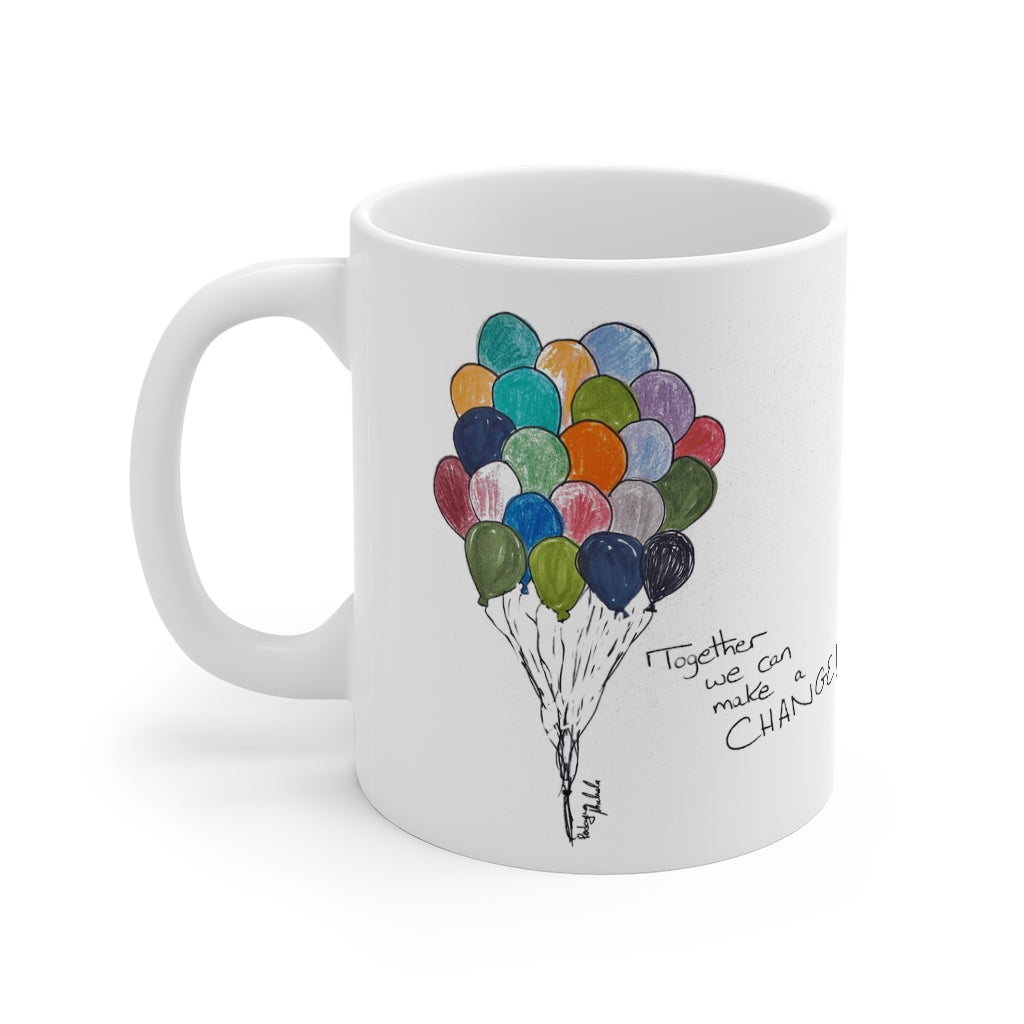 "Empowerment: The power of ""WE"" Mug 11oz"