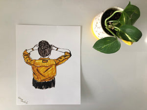 Sketch: The Yellow Shirt