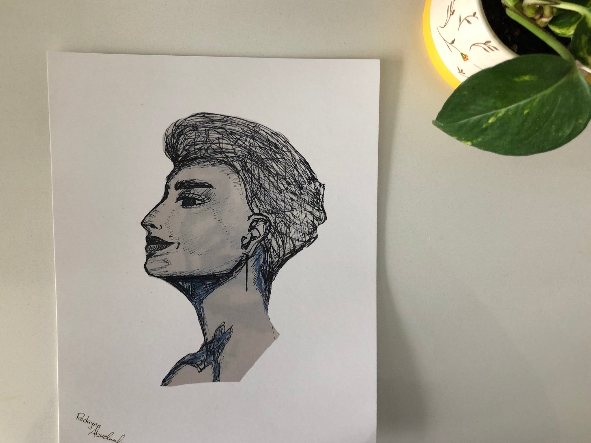 Sketch: Nefertiti