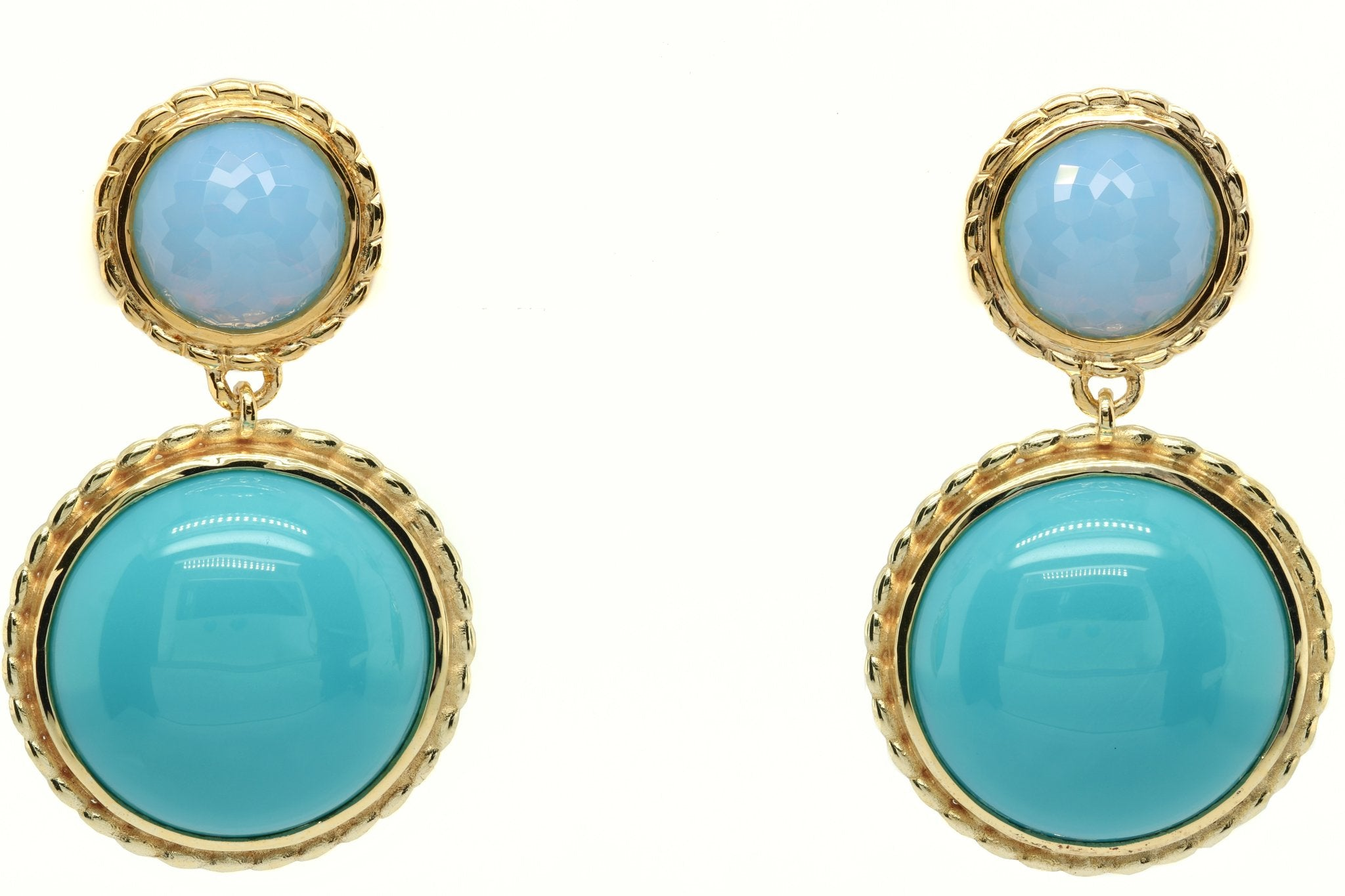 Persian turquoise dream earrings